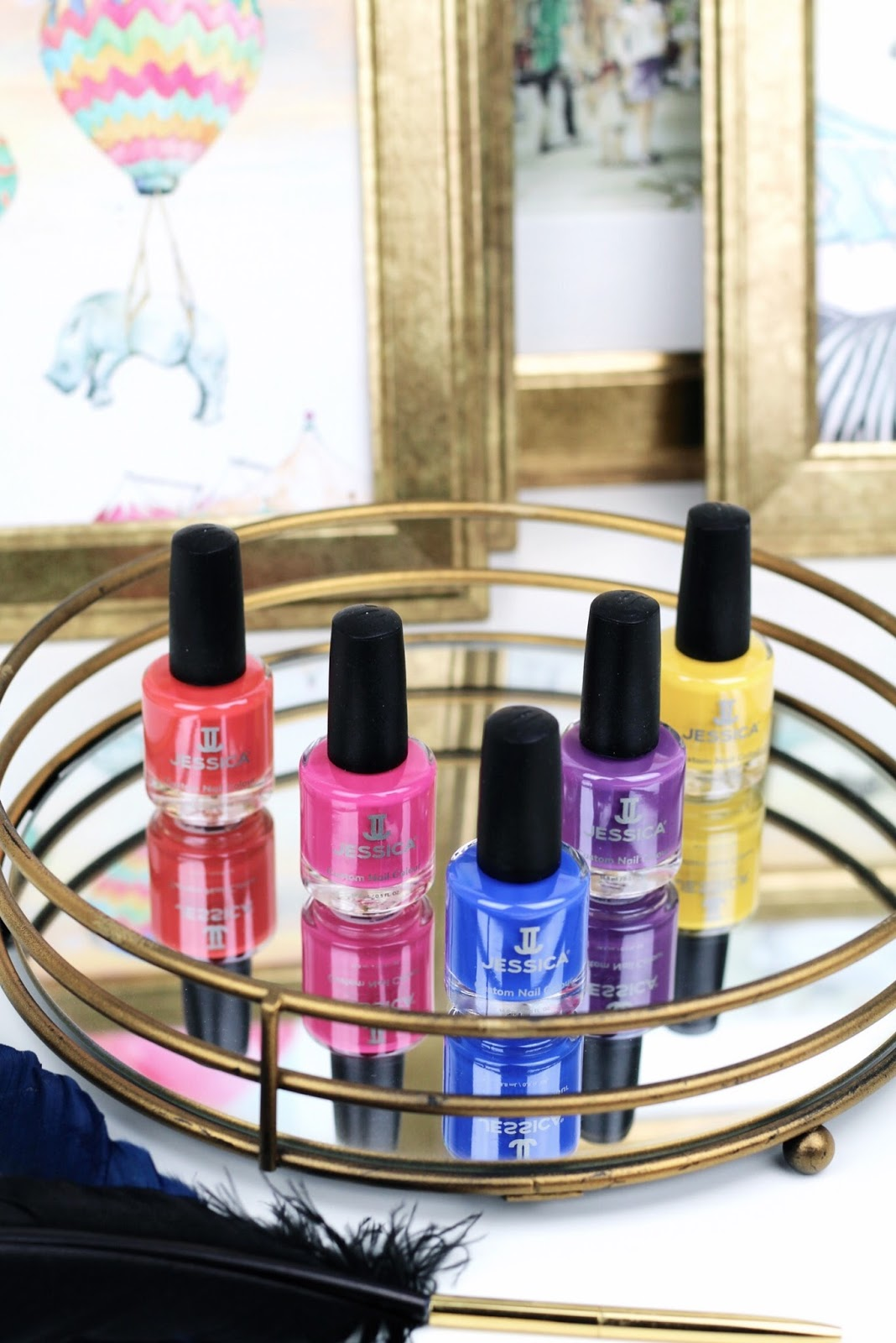 Jessica Nails Prime Collection Summer Blog Review
