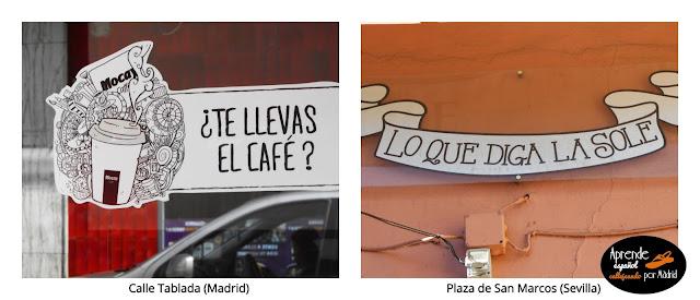 Aprende español callejeando por Madrid: Palabras cruzadas