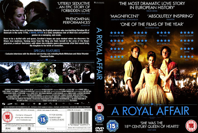 A Royal Affair DVD Cover