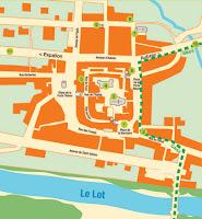 Mapa de Saint-Côme d'Olt, Francia