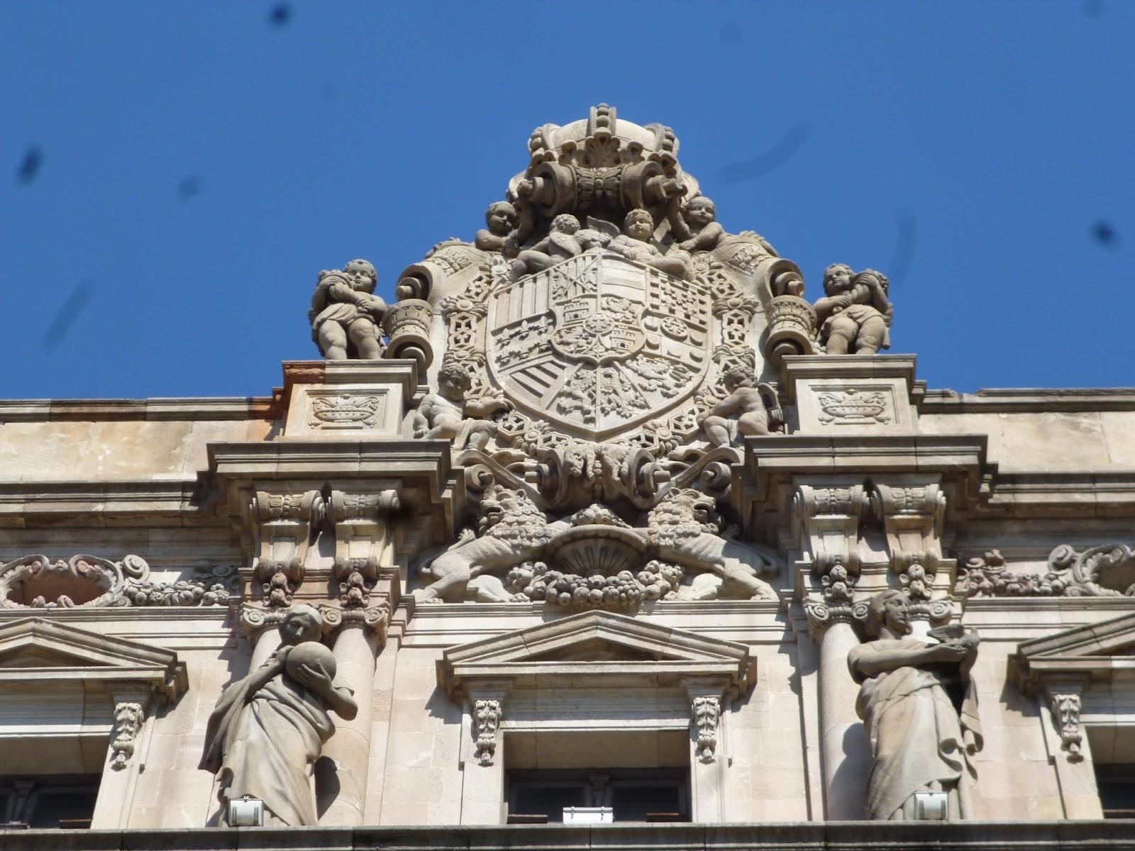 Barcelona de ayer la oficina central de correos - Oficina central de correos barcelona ...