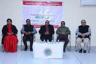 Dias Vardhaman Infotech Curecity Interschool prize distribution