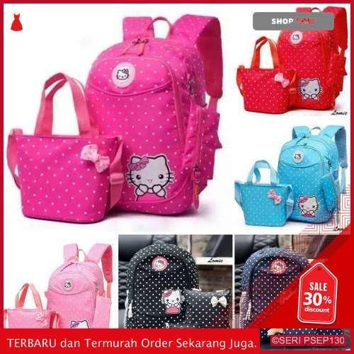 HOP575 Tas Polka  Hello Kitty Tas Sekolah | BMGShop