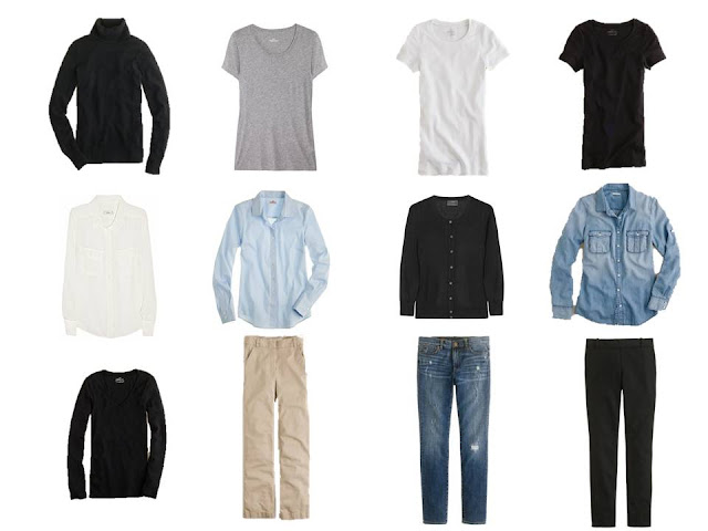 Minimalist Wardrobe, common wardrobe, basic wardrobe, 12-piece wardrobe