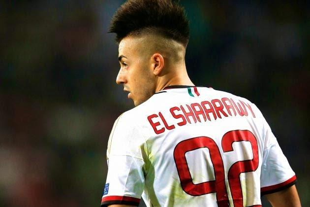 Stephan El Shaarawy Handsome Hairstyles PhotosEl Shaarawy Haircut Name