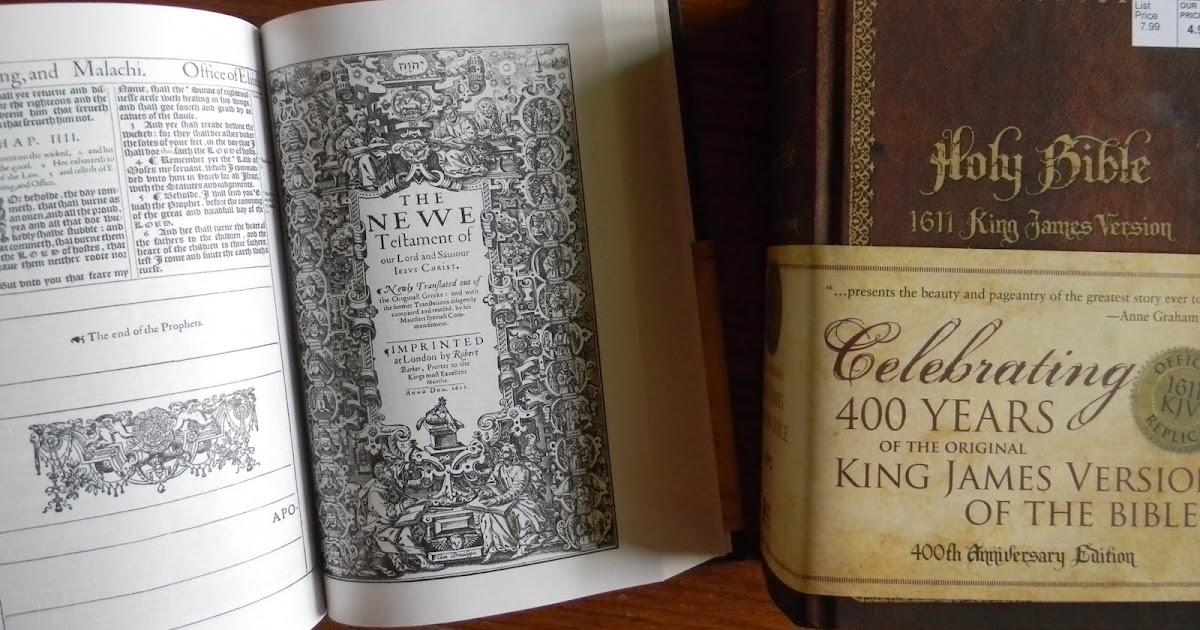 stylos: 1611 KJV Bible Replica at Wal-Mart (!)