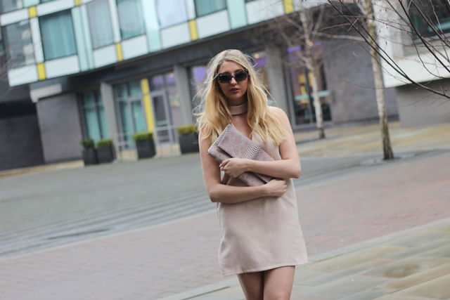 in the style nude dress fashion blog