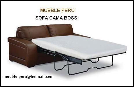 Mueble peru sofa cama for Mueble divan cama
