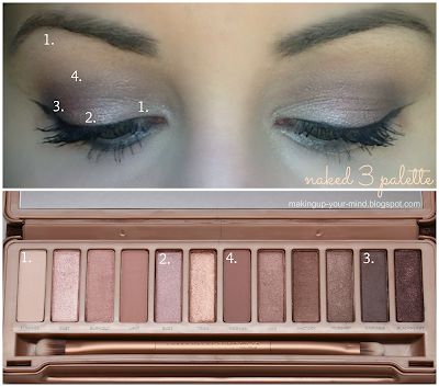 Naked 3 simple/neutral look || makingup-your-mind.blogspot.com