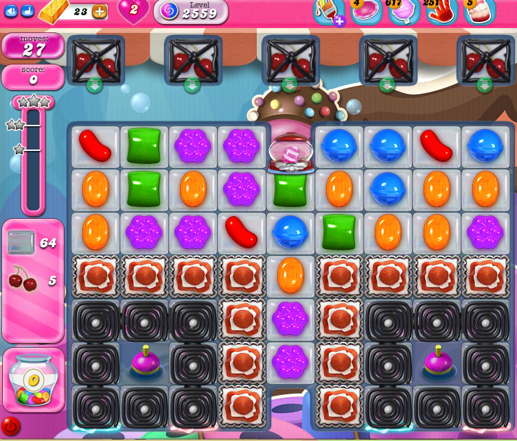 Candy Crush Saga level 2559