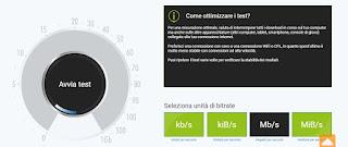 Test internet