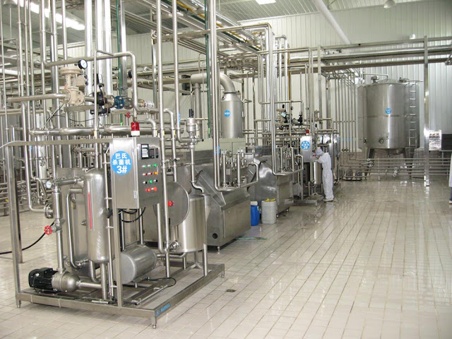 Milk Processing Plant Dairy Machinery Cbecl Group