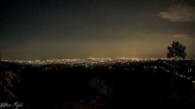 Wisata ketinggian bukit bintang bandung