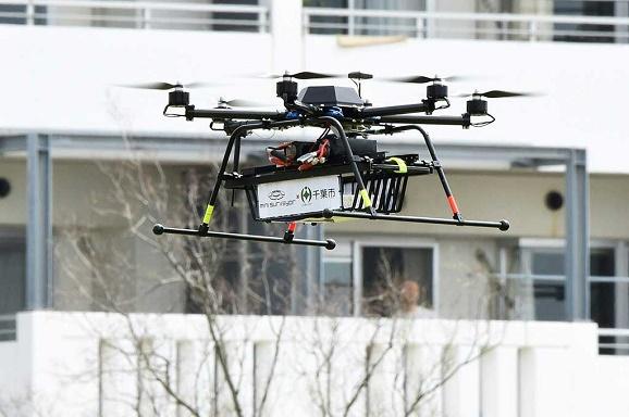 Chiba Kembangkan pesawat tidak berawak (Drone) untuk Kirim Paket door-to-door