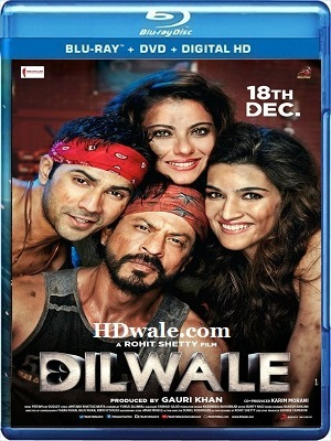 Dilwale Full Movie Download Free (2015) Full HD 720p BluRay
