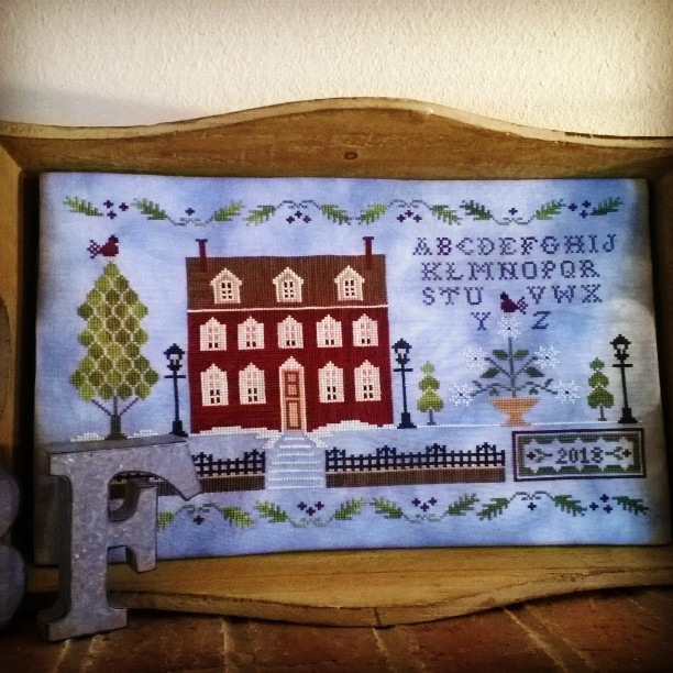 Lantern Lane by Little House Needleworks