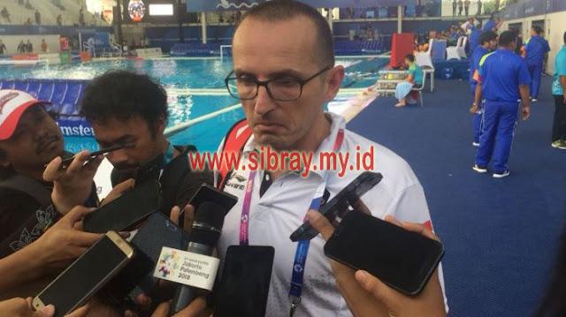 Timnas Polo Air Putri Indonesia Kalah dari Jepang, Kalah Kualitas kata Zoran Kontic