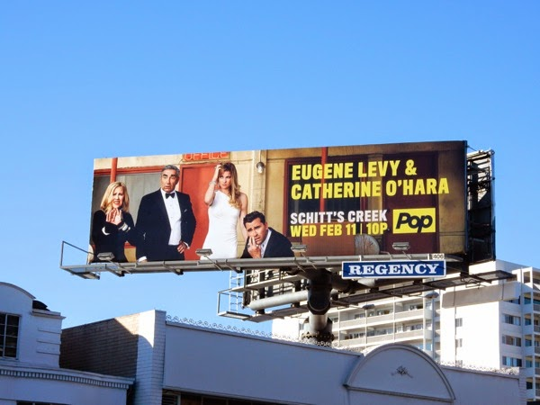 Schitt's Creek season 1 billboard