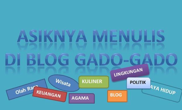 Pindah niche Blog ke Gado-gado