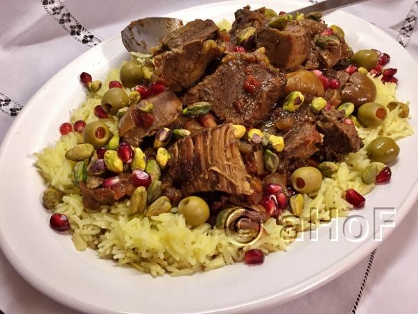 Fruity Moroccan Style Lamb, with Ras el Hanout