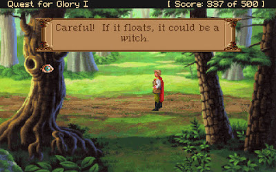 Videojuego Quest for Glory I