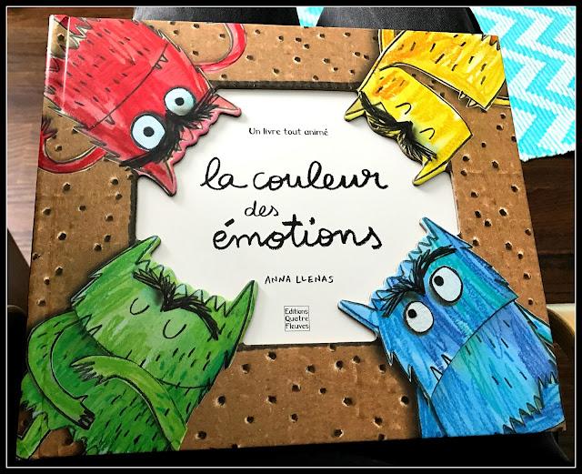 livre la couleurs des émotions couverture
