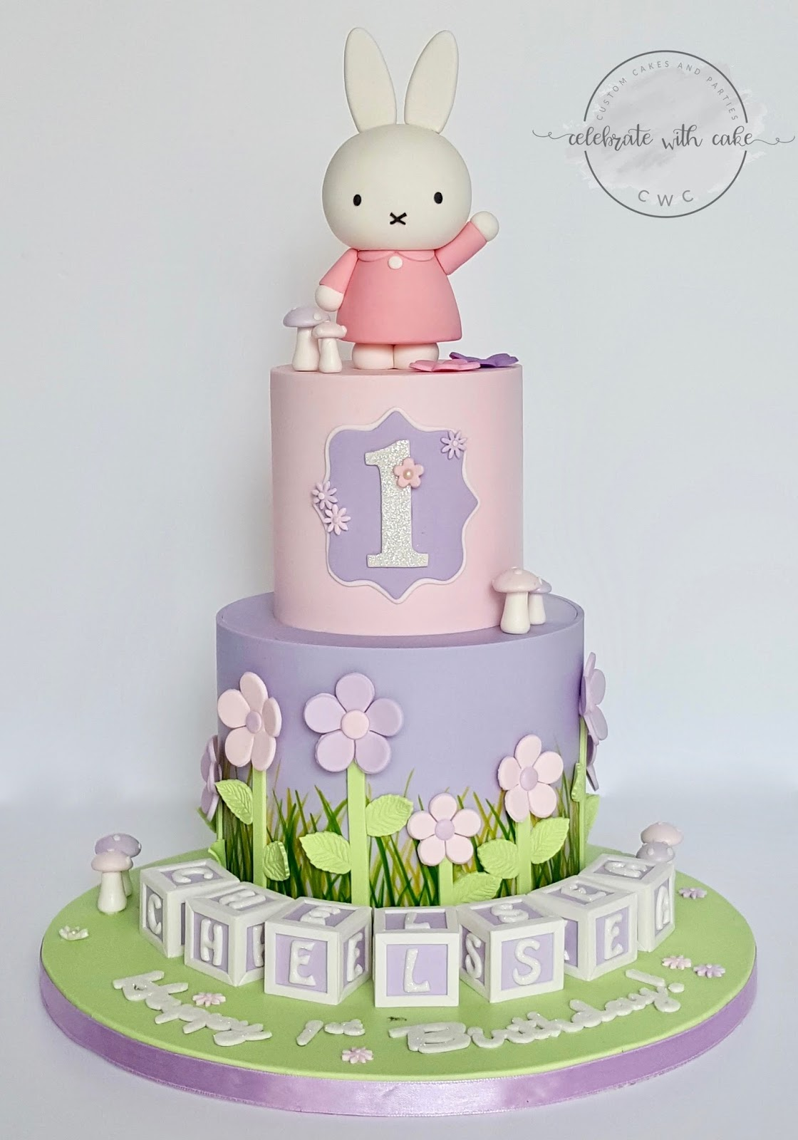 Celebrate With Cake Miffy In The Garden 1st Birthday
