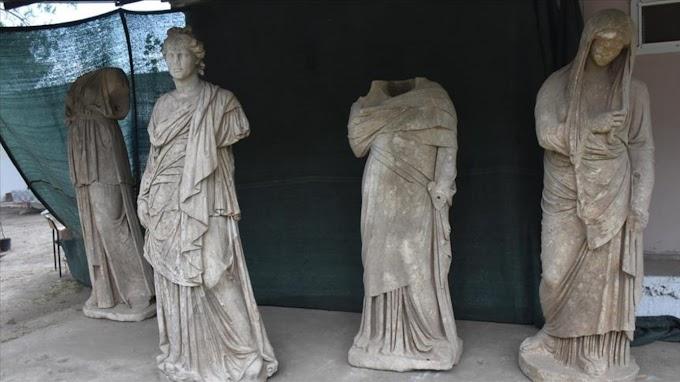Έξι αρχαία ελληνικά αγάλματα ανακαλύφθηκαν στην Μαγνησία της Μ.Ασίας