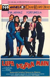 Download Lupa Aturan Main (1990) Warkop DKI Full Movie 360p, 480p, 720p, 1080p