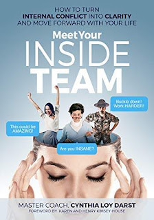Meet Your Inside Team: How to Turn Internal Conflict into Clarity and Move Forward with Your Life discount book promotion Master Coach Cynthia Loy Darst
