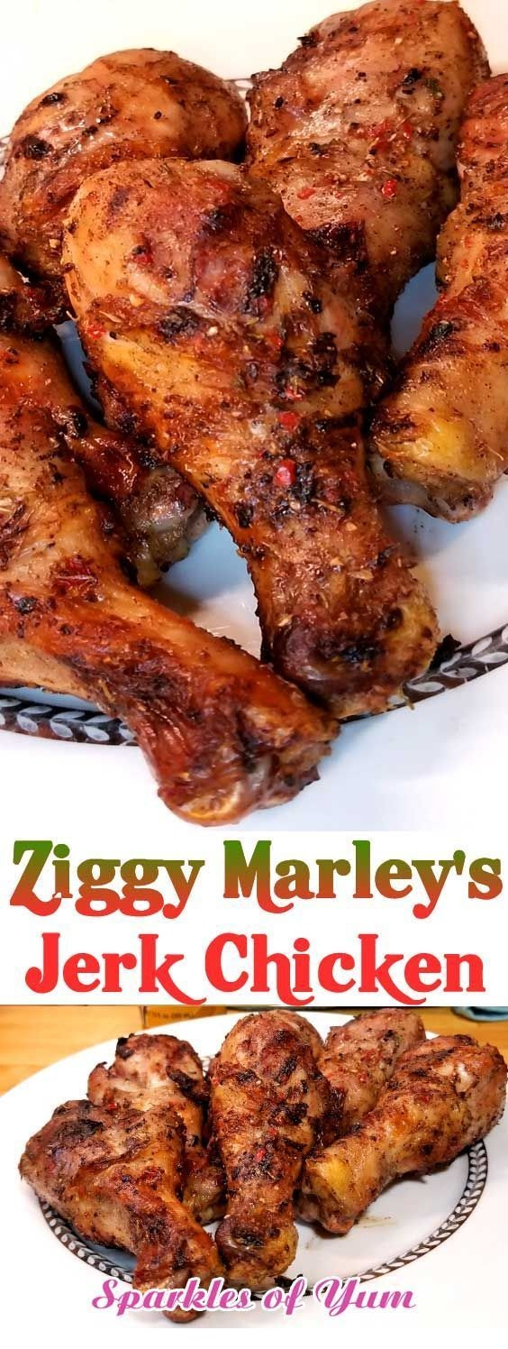 Ziggy Marley's Jerk Chicken
