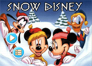 Snow Disney Adventure