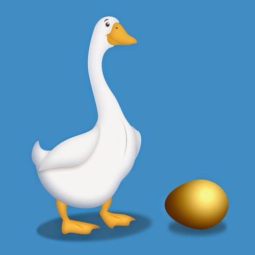 goose this lay a golden eggs