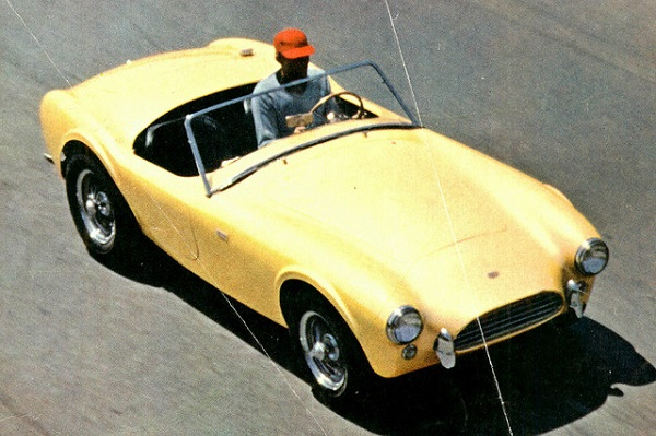 Shelby AC Cobra 260 motor Ford V8