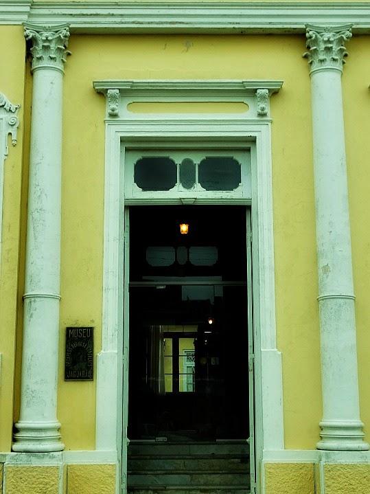 Entrada do Museu Carlos Barbosa, Jaguarão