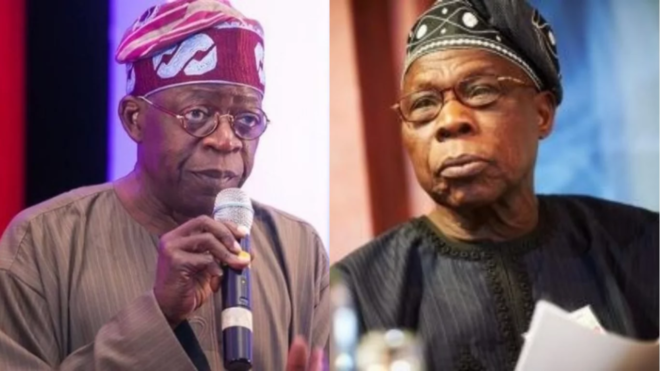 Tinubu and Obasanjo