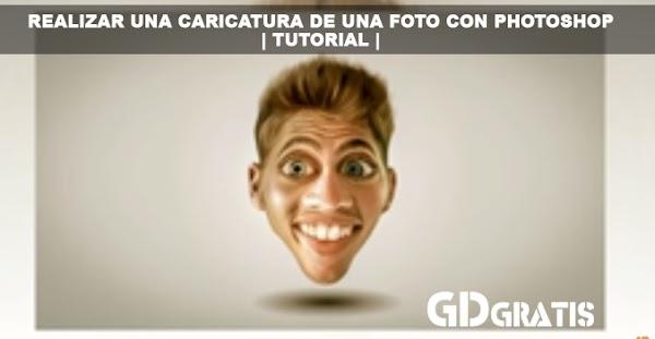 Realizar una caricatura de una foto con Photoshop