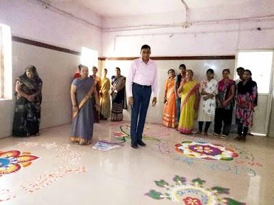 रंगोली एवं मेंहदी प्रतियोगिता के माध्यम से मतदाताओं को किया जागरूक | Shivpuri News