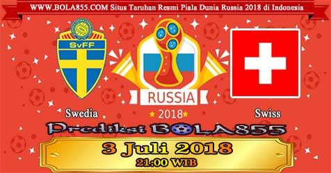 Prediksi Bola855 Sweden vs Switzerland 3 Juli 2018