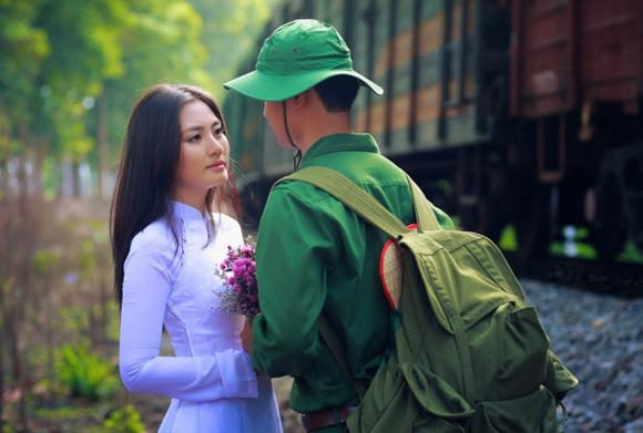 Tâm sự hạnh phúc của cô gái lấy chồng là bộ đội