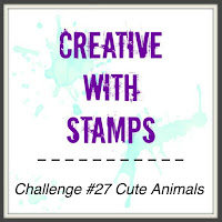 http://creativewithstampschallenge.blogspot.com/2018/06/cws-27-cute-animals.html