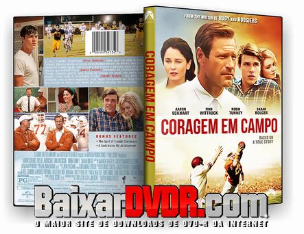 Coragem em Campo (2017) DVD-R Autorado