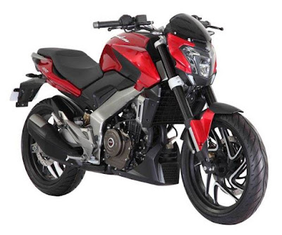 Bajaj Dominar 400 Red Wallpapers HD