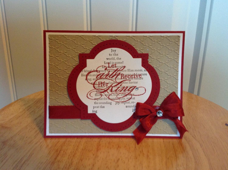 Handmade Christmas Cards : Let's Celebrate!