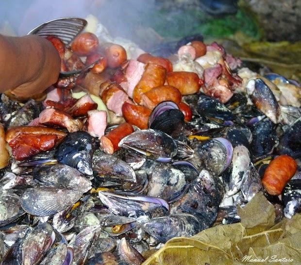 Isla Mechuque, preparazione del Curanto