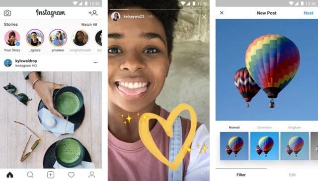 instagram lite con menor consumo de datos móviles