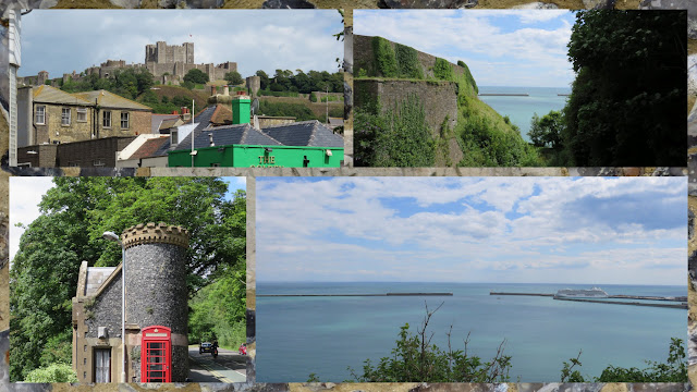 Day Trip to Dover: walk to the castle