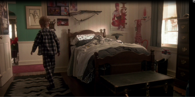 Kevin sam w domu wnetrza