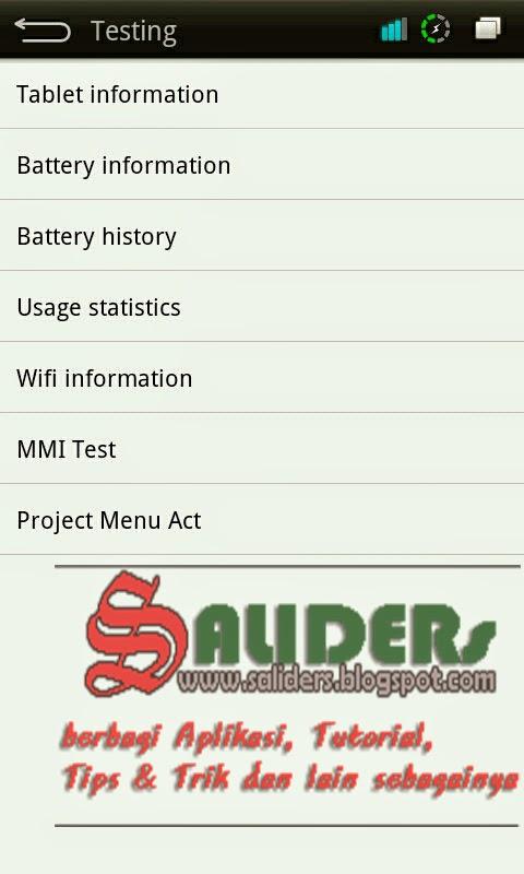 Cara Merubah Jaringan Edge Menjadi HSPA/H+ di Android, SALIDERs