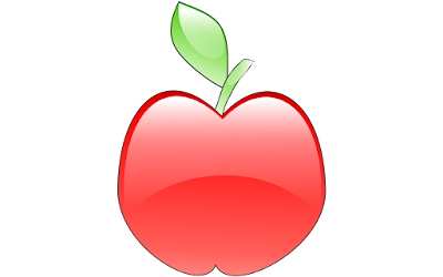 clipart gratis buah apel